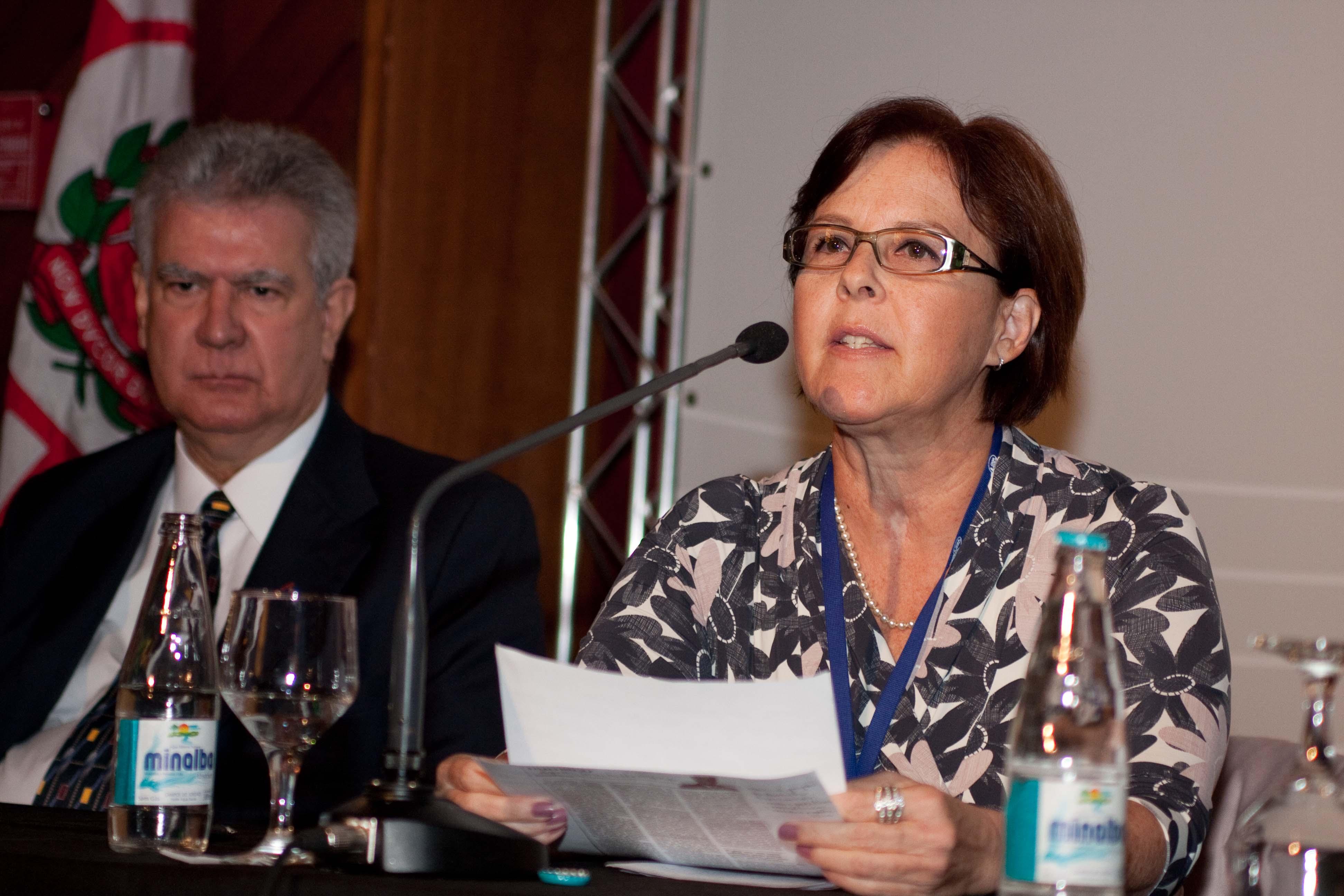 Gisela aponta importância de se planejar água e energia conjuntamente