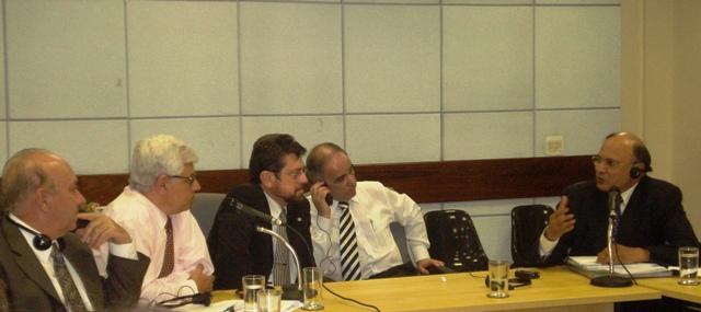 Vicente Andreu e Paulo Varella recepcionaram grupo liderado por Narender Kumar