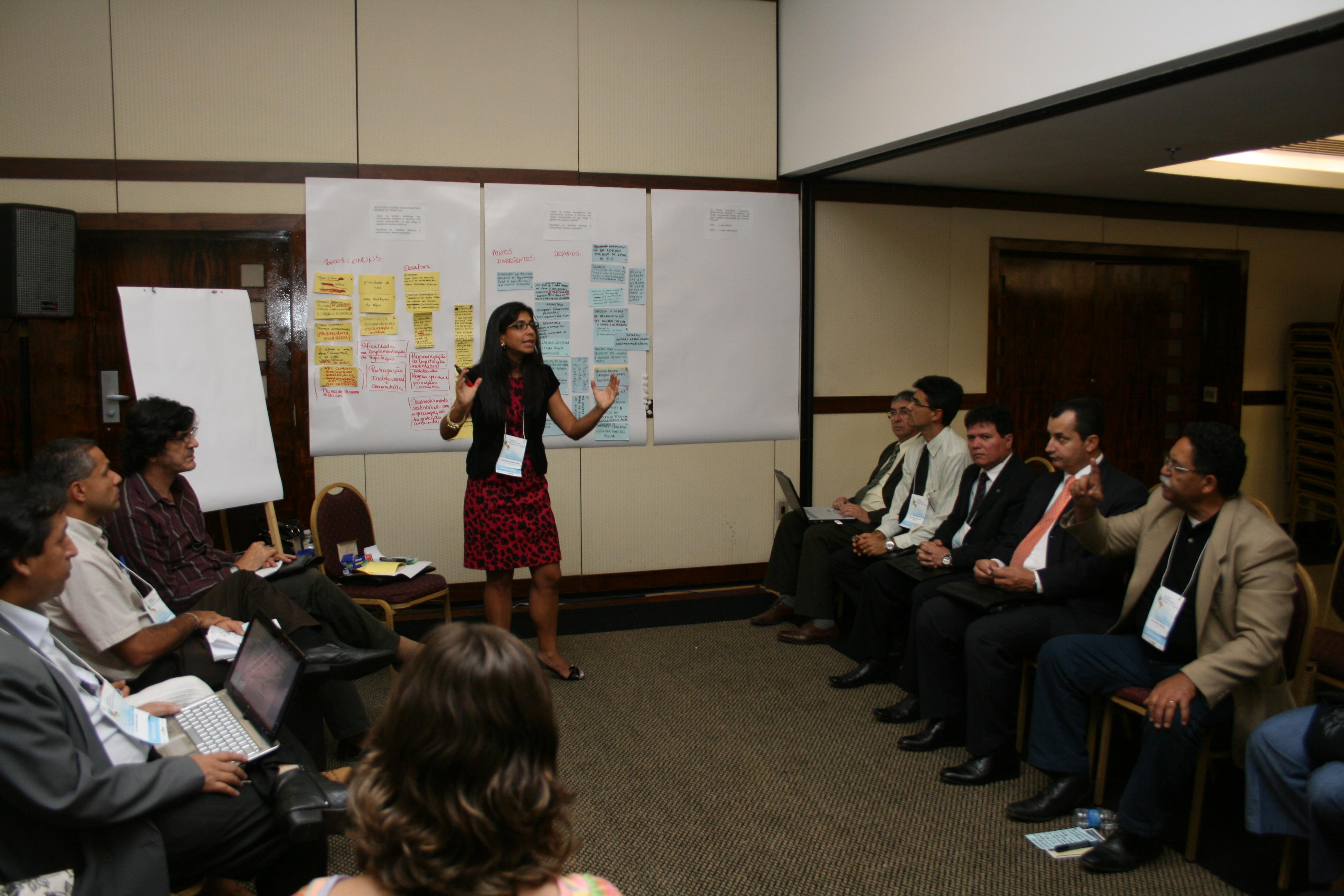 Grupo de trabalho debate melhorias para uma gestão integrada da água